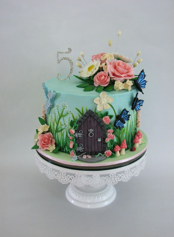 The 25 Best Ideas About Garden Theme Cake On Pinterest Garden