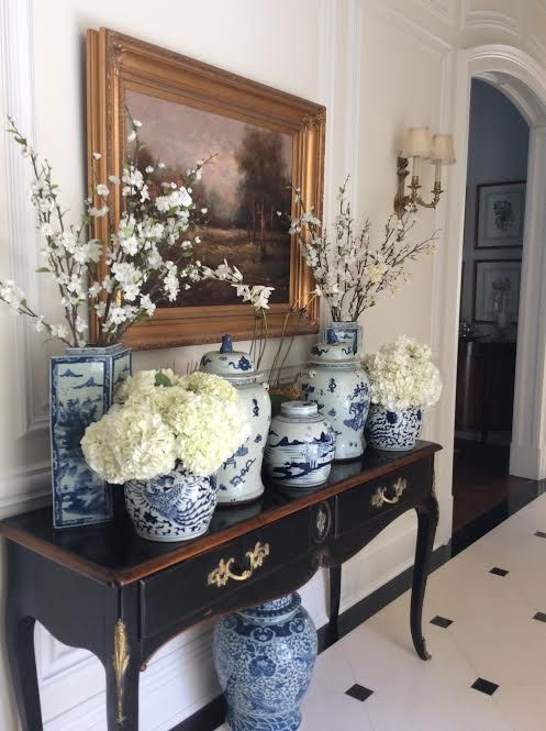 Pinterest PrettiesBlue And White The Enchanted Home