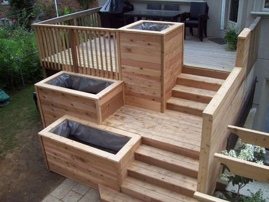 The 25 Best Ideas About Raised Deck On Pinterest Decks Decking