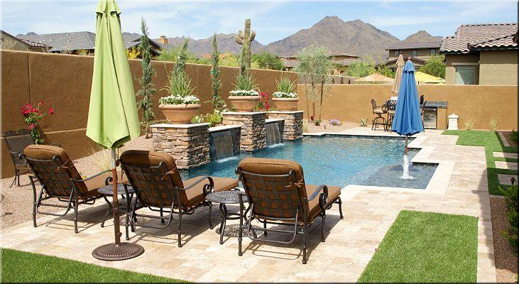 Arizona Backyard Pool Landscaping Ideas