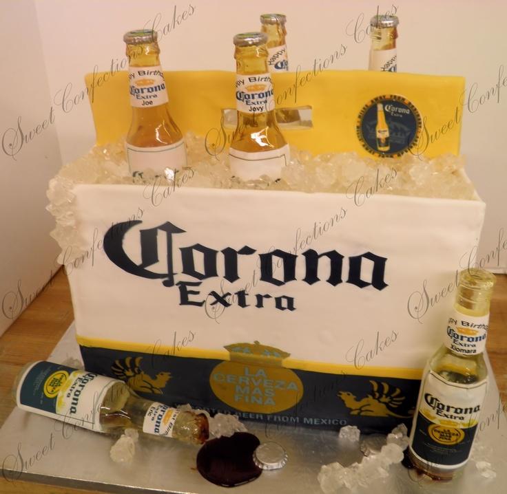 6pack Corona Beer Cake 3d Cakes Pinterest Beer Beer