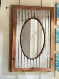25+ best ideas about Rustic bathroom mirrors on Pinterest