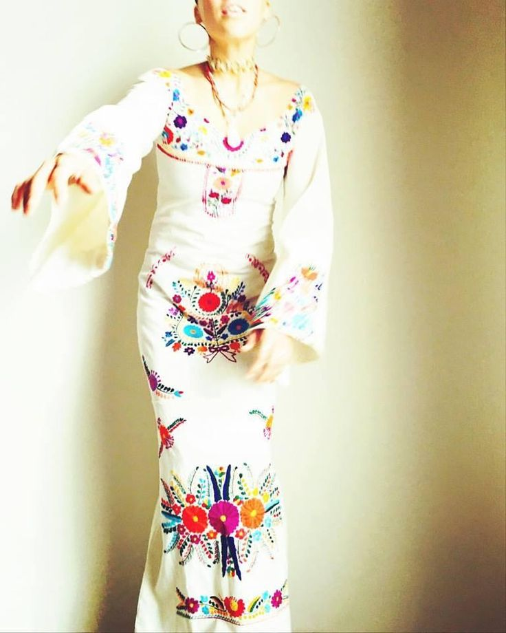 25 best ideas about Mexican Embroidered Dress on