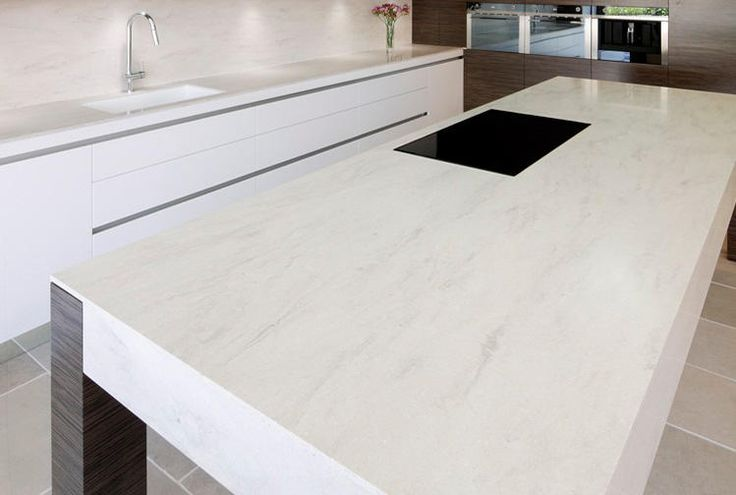 Corian colour Clam Shell Application Benchtops and