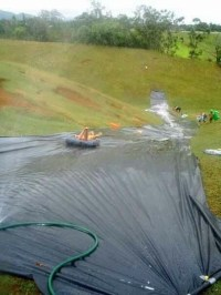 DIY water slide, what a great idea! | Summer activities ...