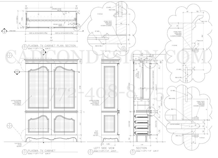14 best images about Millwork Shop Drawings on Pinterest