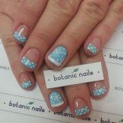 cute winter nail art snowflake