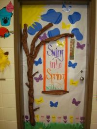 Swing-Into-Spring-Door-Decoration-Idea.jpg (450600) swing ...