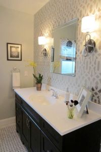 25+ best Bathroom Accent Wall trending ideas on Pinterest