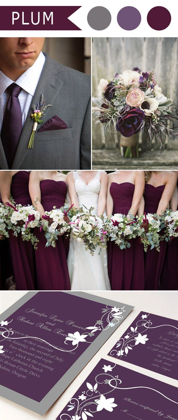 17 Best ideas about Purple Wedding Colors on Pinterest  Purple wedding dress colors Purple