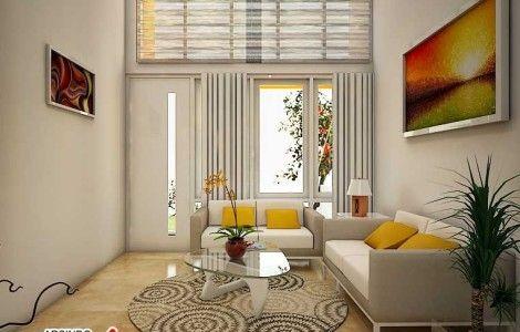 Gambar Desain Ruang Tamu Mungil  My Future Home  Pinterest