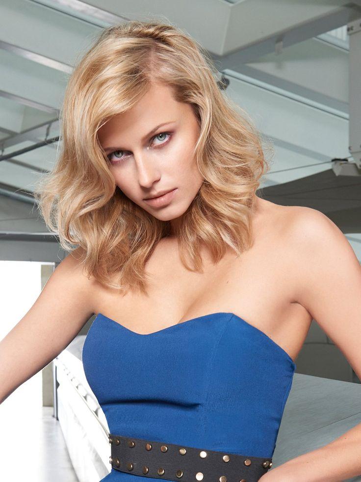 1000 Idées Sur Le Thème Frisuren Blond Halblang Sur Pinterest
