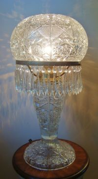 Glass lamps, Victorian and Lamps on Pinterest