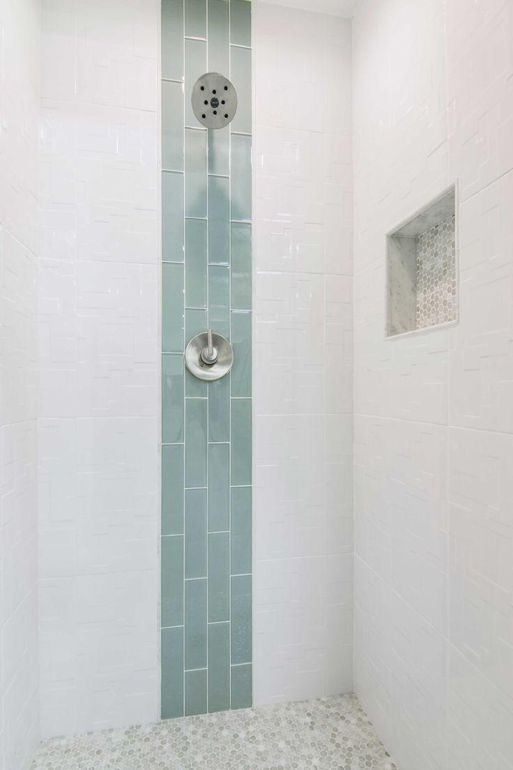 25 best ideas about Glass Tile Shower on Pinterest
