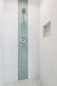 25+ best ideas about Glass Tile Shower on Pinterest
