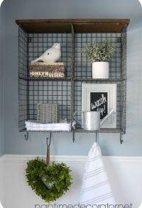 1000+ ideas about Bathroom Wall Decor on Pinterest   Half ...