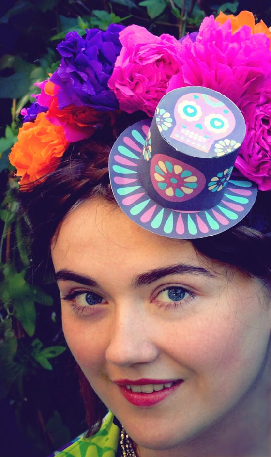 How to make a paper flower headpiece  Crafts Flower