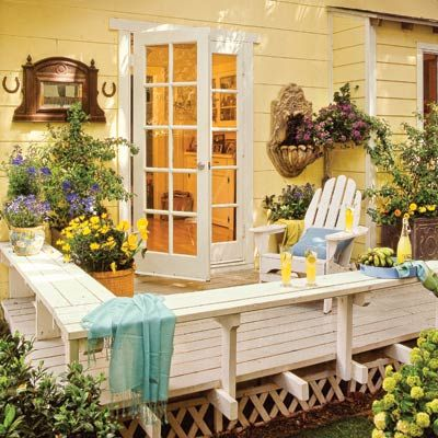 Decks  						  							Taking your deck from dull to dramatic can be as simple as