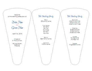 Best 25+ Wedding ceremony program template ideas on Pinterest