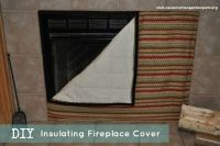 1000+ ideas about Fireplace Cover on Pinterest