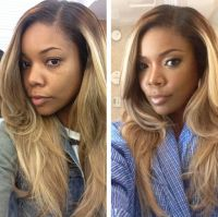 Before and After...Gabrielle Union: Hair Ideas, Gabrielle ...