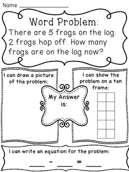 23 best Story Problems images on Pinterest