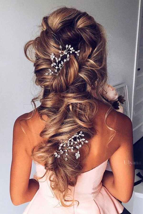30 Easy Hairstyles For An Evening Wedding Hairstyles Ideas Walk