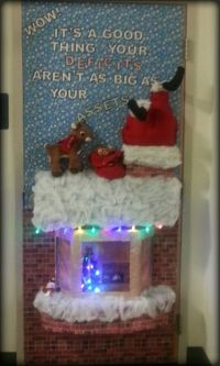 1000+ images about Christmas door decorating on Pinterest
