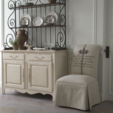 Ethan Allen genevieve bakers rack  Country French