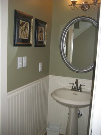 New Paint Job in Small Bathroom Remodel: Guest Remodel ...