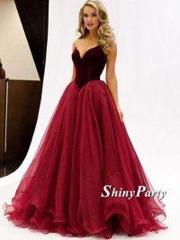 17 Best ideas about Maroon Prom Dress on Pinterest
