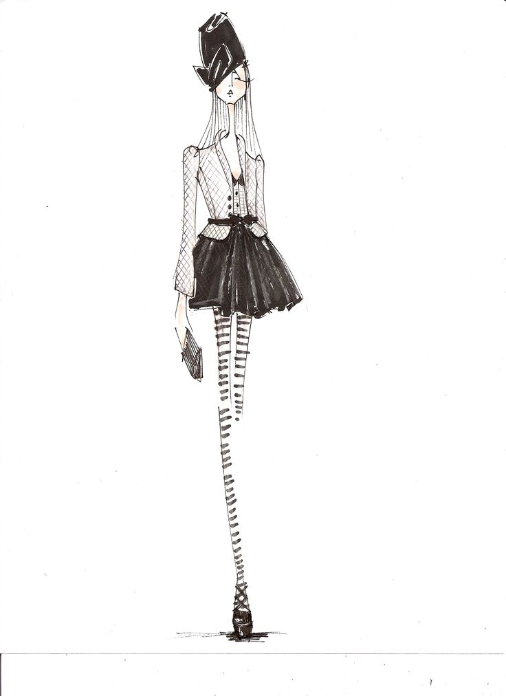 193 best images about Fashion drawings on Pinterest