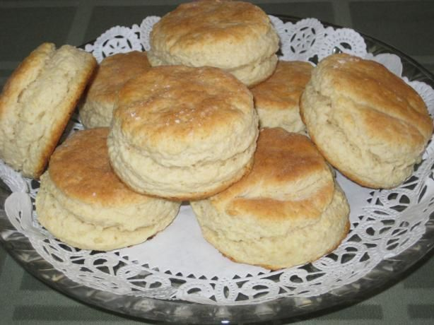 Basic Baking Powder Biscuits Modified For Stand Mixers