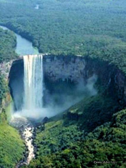 Guyana Wallpaper Kaieteur Falls Kaieteur Falls Brownsberg Suriname Exotic World Travel