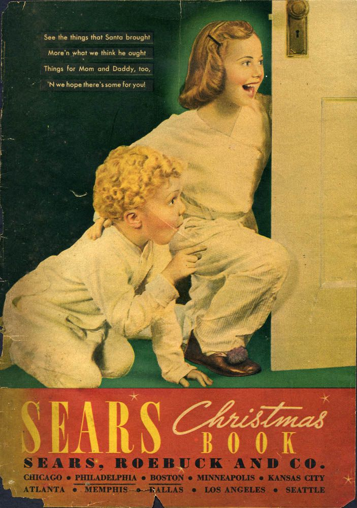 17 Best Images About Vintage Sears Wish Book Covers On