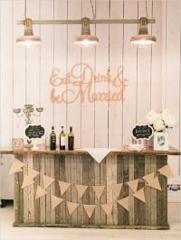 25+ best ideas about Rustic wedding bar on Pinterest ...