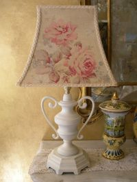 1000+ ideas about Shabby Chic Lamps on Pinterest | Burlap ...