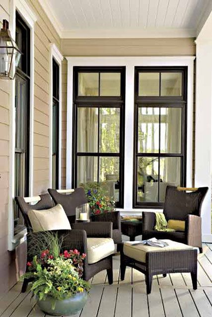 25+ best ideas about Black windows on Pinterest
