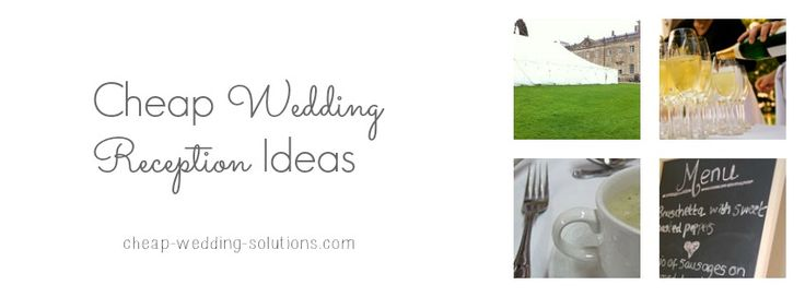 Cheap Wedding Reception Cards
