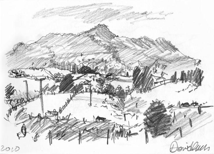 160 Best images about Landscape Drawings on Pinterest