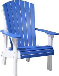 LuxCraft Recycled Plastic Royal Adirondack Chair ...