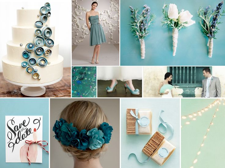 16 Best Images About Teal & Champagne On Pinterest