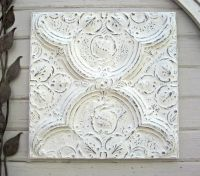 75 best images about Antique Tin Ceiling Tiles in Whites