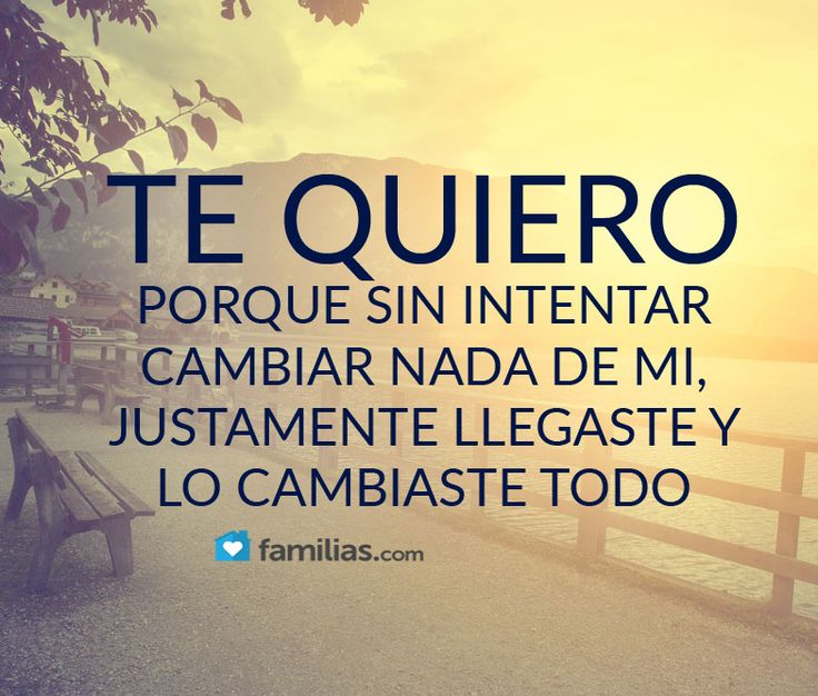 25 best ideas about Te Quiero on Pinterest  Frases Amor