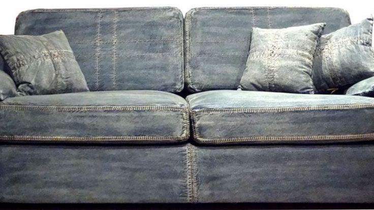 1000 ideas about Denim Sofa on Pinterest  Cindy Crawford