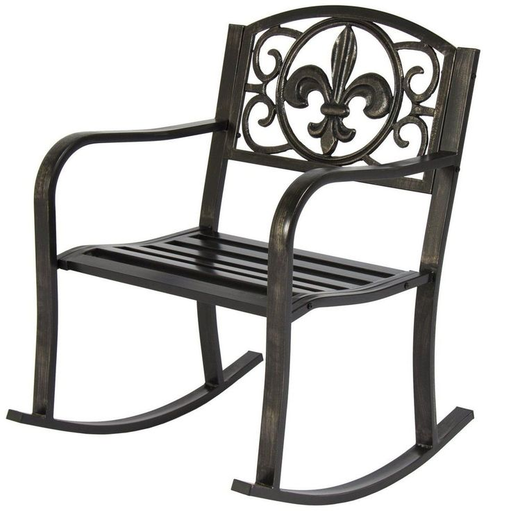 Best 25+ Metal Rocking Chair ideas on Pinterest