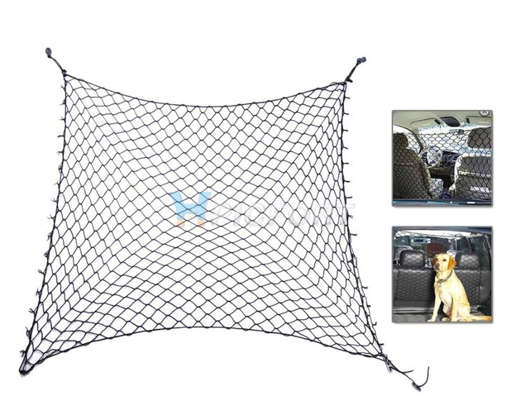 Car & SUV Cargo / Seat Area Pet Dog Barrier Net Safety