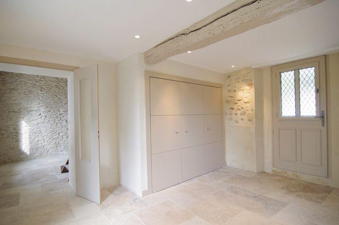 Maison En Pierre Intrieur Avec Murs En Pierres Apparentes