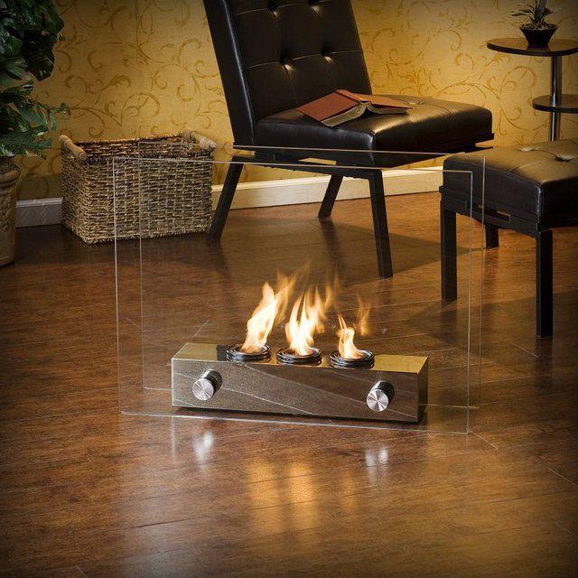 Portable Indoor/Outdoor Gel Fireplace
