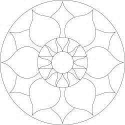 17 Best images about Simple Mandala on Pinterest
